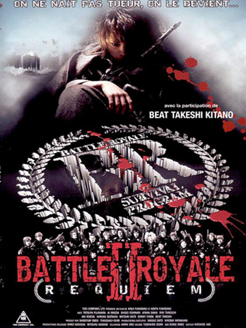 affiche de Battle Royale 2