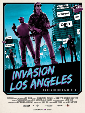 affiche de Invasion Los Angeles